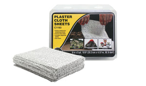 Woodland Scenics - Plaster Cloth Sheets (C1193) - the-pennsy-station-llc