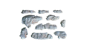 Woodland Scenics - Rock Mold - Outcroppings (C1230) - the-pennsy-station-llc