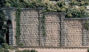 Woodland Scenics - Retaining Walls 3-Cut Stone - HO Scale (C1259) - the-pennsy-station-llc