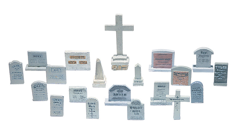 Woodland Scenics - Tombstones - HO Scale (D201) - the-pennsy-station-llc