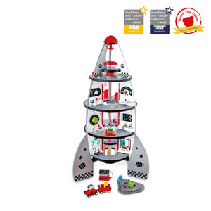 Hape - Four-Stage Rocket Ship (E3021)