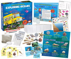 "The Young Scientist Club - The Magic School Bus: Rides Again - ""Exploring Oceans"" Science Kit (WH-925-1175N)"