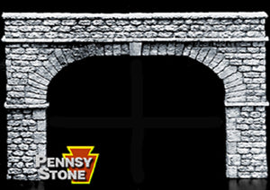 Scenic Express - Tunnel Portal - Extra Wide Double Portal - O Scale (FL6263) - the-pennsy-station-llc