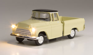 Woodland Scenics - Just Plug(R) Lighted Vehicle - Work Truck - HO Scale (JP5597) - the-pennsy-station-llc
