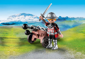 Playmobil - Special Plus - Knight With Cannon (9441)