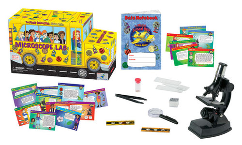 The Young Scientist Club - The Magic School Bus: Rides Again - Microscope Lab Bus (WH-925-1143)
