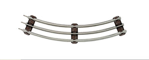 Lionel - O27 Tubular Curved Track (6-65033) - the-pennsy-station-llc