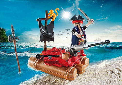 Playmobil - Pirates - Pirate Raft Carry Case (5655)