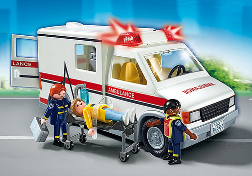 Playmobil - City Action - Rescue Ambulance (5681)