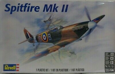 Revell - Spitfire MkII 1/48 Scale - Plastic Model Kit (855239) - the-pennsy-station-llc