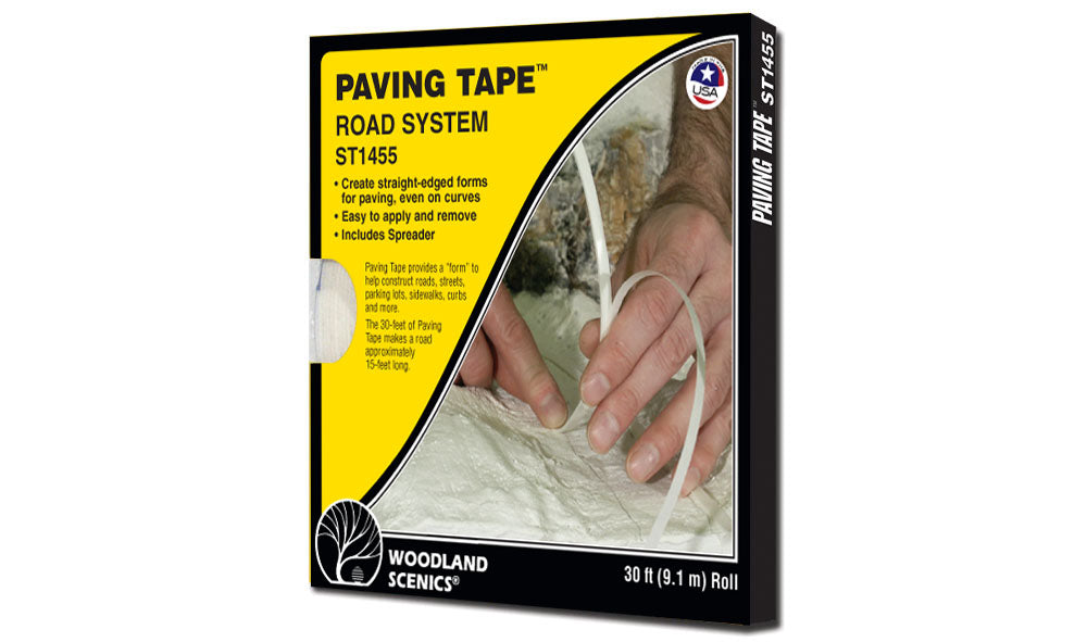Woodland Scenics - Road System Paving Tape (ST1455) - the-pennsy-station-llc