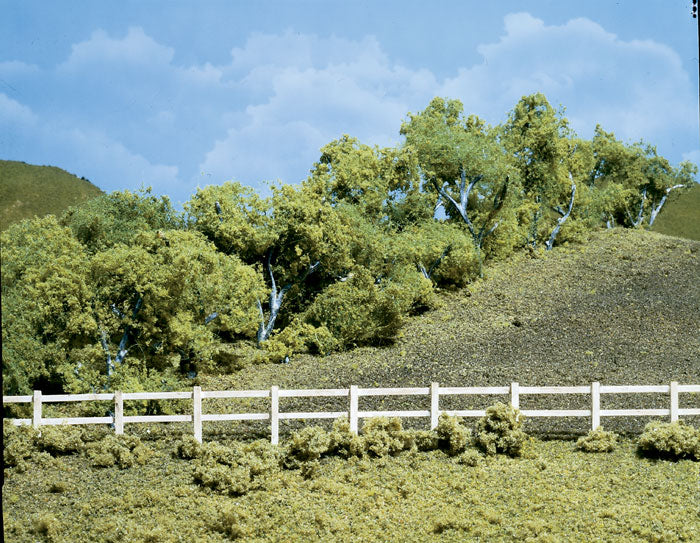 Woodland Scenics - Hedge Row Scene (TK24) - the-pennsy-station-llc