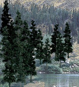 "Woodland Scenics - Bulk Trees 4""-6"" Conifer Trees (TR1581) - the-pennsy-station-llc"