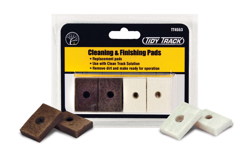 Woodland Scenics - Cleaning & Finishing Pads (TT4553) - the-pennsy-station-llc