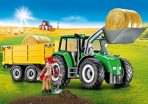 Playmobil - Country - Tractor with Trailer (9317)