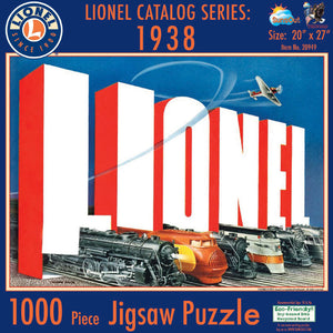 Lionel - '38 Catalog Puzzle (6-20949) - the-pennsy-station-llc