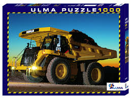 ULMA 1000-Piece Puzzle - Caterpillar (777F) - the-pennsy-station-llc