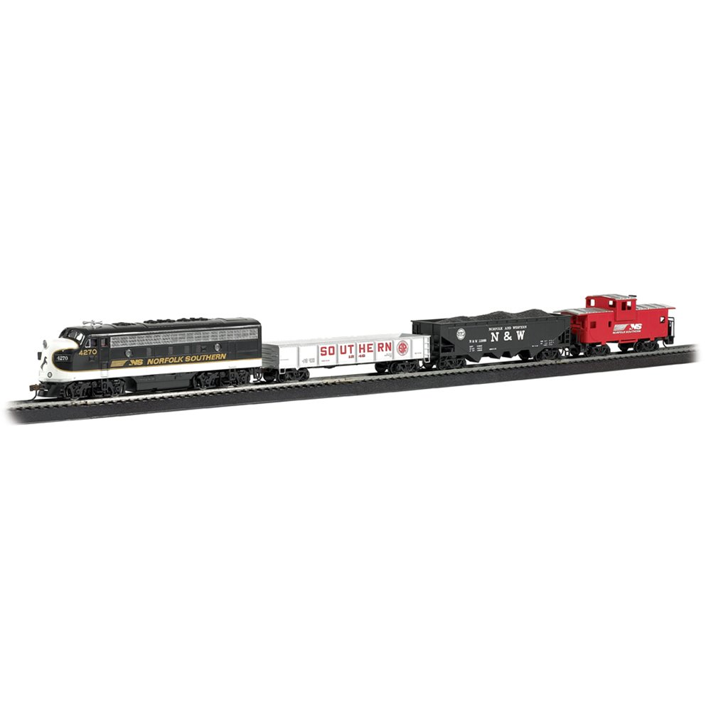 Bachmann - NS Thoroughbred Freight Train Set - HO Scale (00691)
