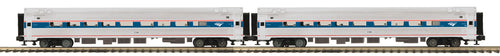 MTH - Premier Amtrak 2-Car Amfleet Passenger Set - Phase 4/6 - O Scale (20-64135)