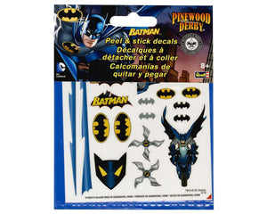 Revell - Pinewood Derby - Batman Peel & Stick Decals (RMXY9405) - the-pennsy-station-llc