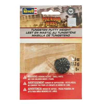 Revell - Pinewood Derby - Tungsten Putty Weight (RMXY9428) - the-pennsy-station-llc