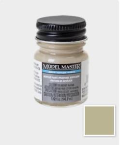 Testors Model Master - Acrylic Paint - 1/2oz Bottle - Aged Concrete Flat (4875) - the-pennsy-station-llc