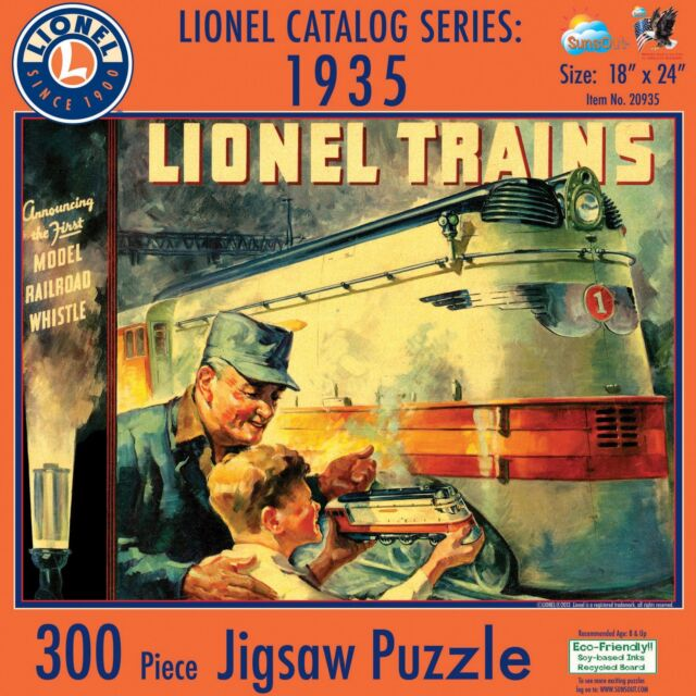 Lionel - '35 Catalog Puzzle (6-20935) - the-pennsy-station-llc