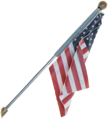 Woodland Scenics - U.S. Flag - Wall Mount - Large (JP5955) - the-pennsy-station-llc