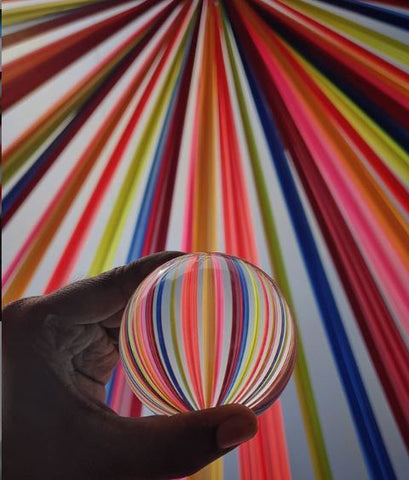 Lensball Rainbow Color Photos