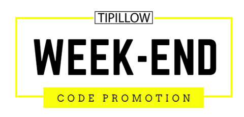 tipillow code promotion exceptionnelle ce week-end