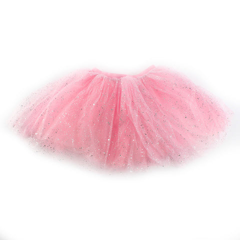 Multi-Color Kids Princess Tutu Skirt Infant Toddle Princess child Girls Bling Tulle Party Ballet Dance Dress Short Cake Skirt