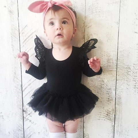 Lovely Spring Baby girls bodysuits Newborn dress Clothing Jumpsuits body bebes vetement bebes fille ropa menina Birthday gift