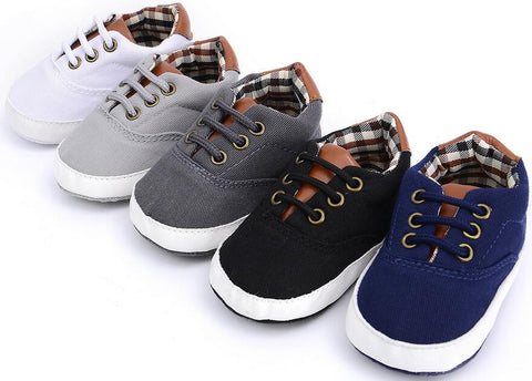 2018 new autumn style solid pu leather baby moccasins shoes baby boys lace up shoes leisure sneakers soft sole hot sell
