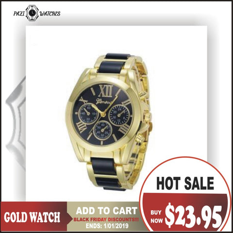 Horloges Roman Numeral Men's Wrist Watch
