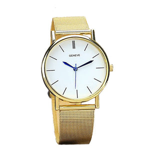 PAZI-Watches | Geneve Women's Fashion Watch Stainless Steel Band Quartz Wrist Watches