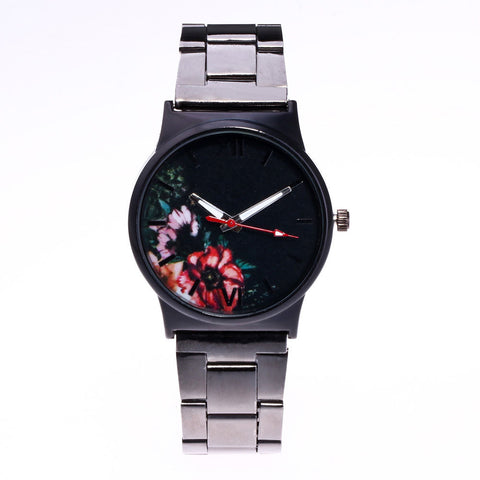 Pazi-Watches | Picture Design Alloy Band Analog Alloy Quartz Wrist Watch