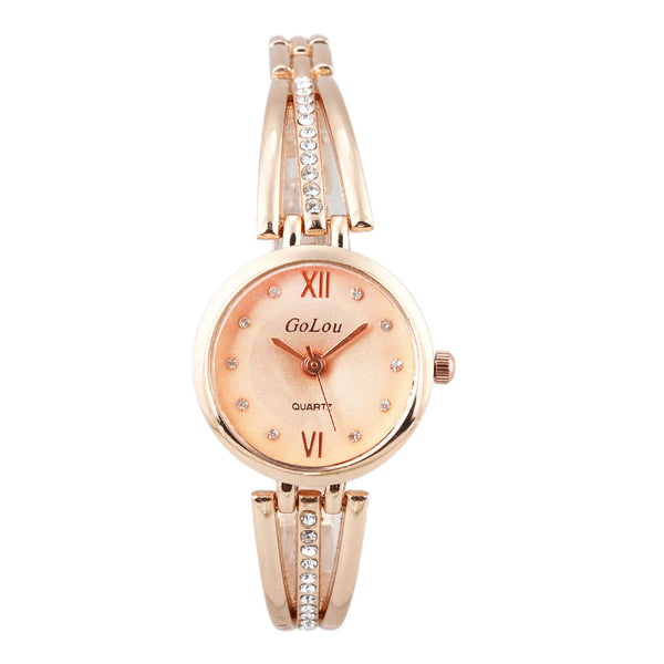 Premium Elegant Rhinestone Bracelet Wrist Watch for Women
