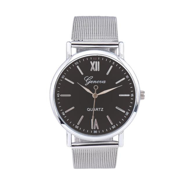PAZI-Watches | Men Contracted Fashion Watches Steel Band Watches