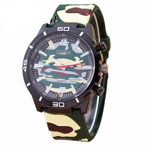PZ Military Camouflage Watch for men