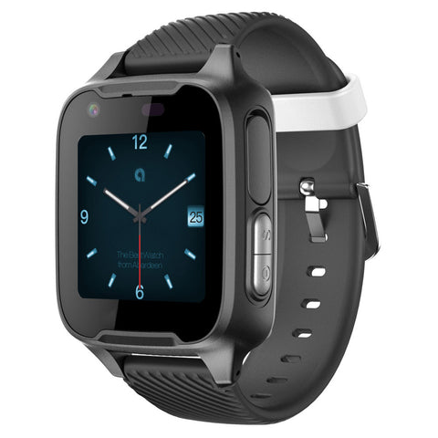 Dark Elegant Video Calling and GPS 4G Smart Watch
