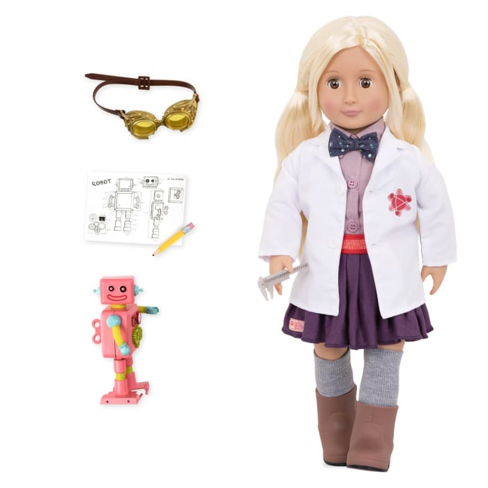 Amelia Our Generation Professional Engineering Doll | Our Generation Doll - 062243328327