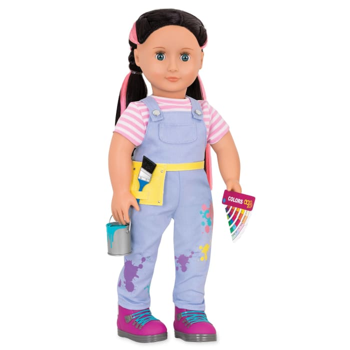 Ananda Our Generation Professional Decorator Doll | Our Generation Doll - 062243345843