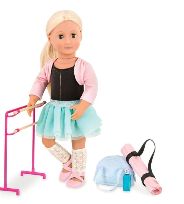 Dancing Feet Ballet Accessories for Our Generation Dolls | Our Generation Accessory - 062243344907