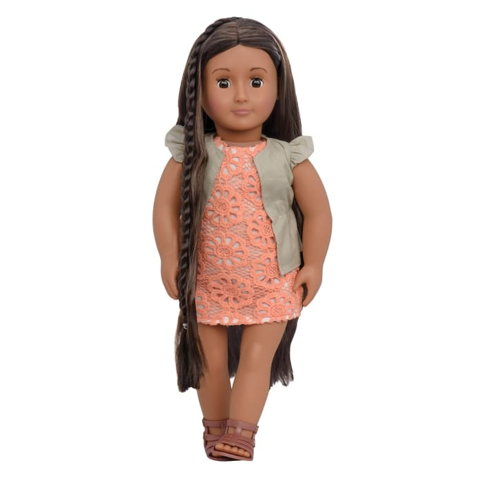 Flora - from hair to there Our Generation Hair Play Doll | Our Generation Doll - 062243317888