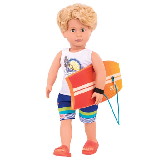 Gabe Regular Our Generation Boy Surfer Doll | Our Generation Doll - 062243401976
