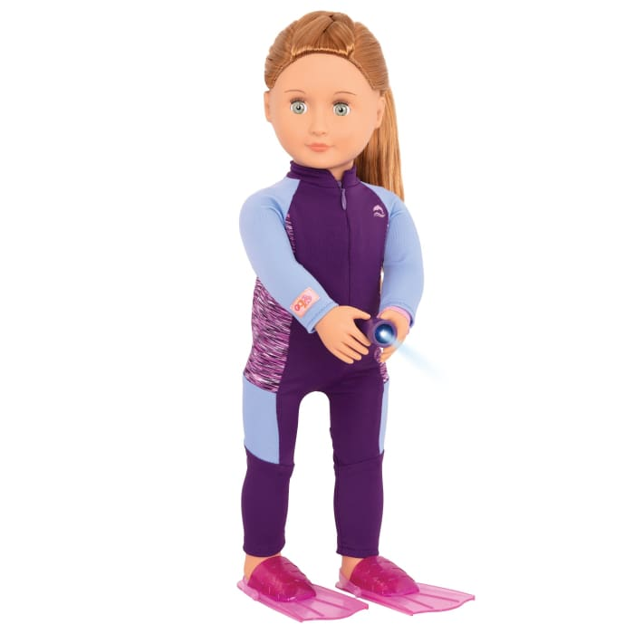 Hattie Deluxe Our Generation marine biologist Doll | Our Generation Doll - 062243352124