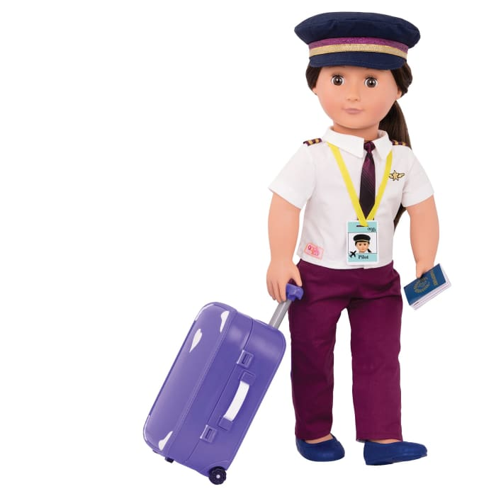 Kaihily Our Generation Professional Pilot Doll | Our Generation Doll - 062243402133