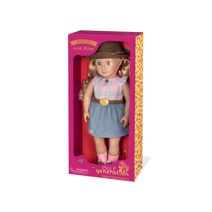 Lea Rose Regular Our Generation Doll | Our Generation Doll - 062243351974