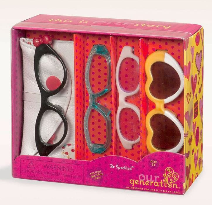 Our Generation Be Speckled Glasses | Our Generation Accessory - 62243264298