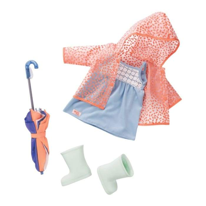 Brighten up a Rainy Day Deluxe Outfit | Our Generation Clothes - 062243349278
